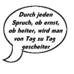 Reichtums-Sprüche