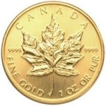 Gold_Maple Leaf Kanada