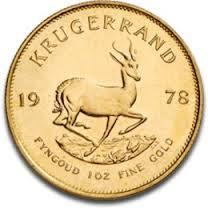 Goldmünzed SA Krügerrand