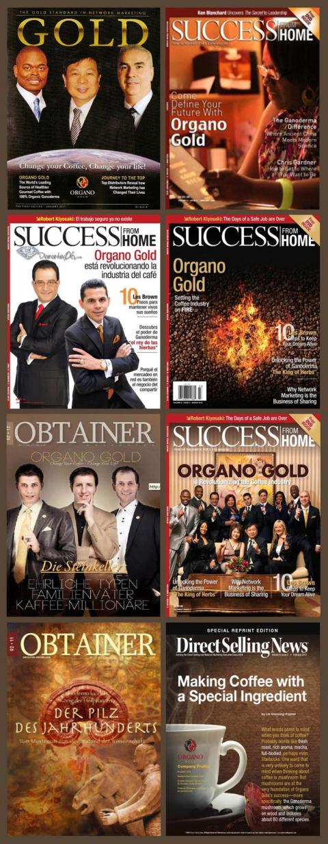 organo gold, reichtum, erfolge